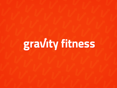 Gravity Fitness Logo logo fitness brand personal trainer trainer lift weight loss