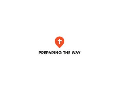 Preparing The Way logo christian blog way cross