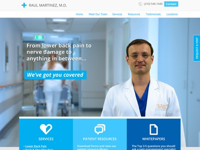 Pain Specialist Homepage