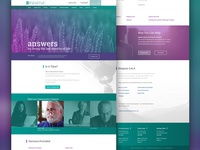 Proposed Hospice Homepage
