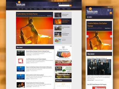 Toledo.com - Your Local Connection gigs events local ads story feature articles news home website ohio toledo