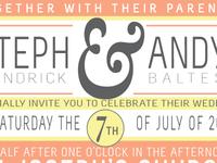 Wedding Invite Preview