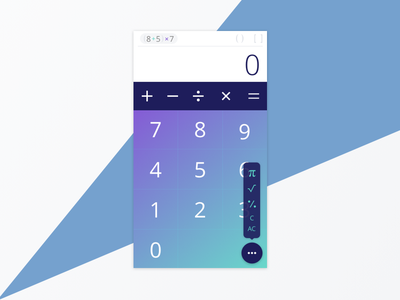 #04: Calculator 004 dailyui