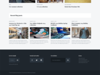 Majestic / Home page & Footer