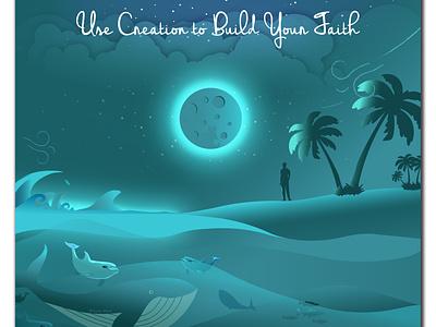 Use Creation to Build Your Faith faith vector inspiration design illustration graphic design jw