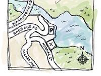 Roseville map illustration