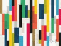 Colour palette exploration