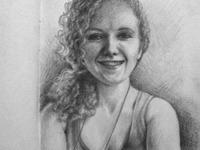 Self portrait sketch 2012