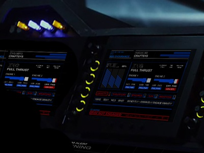 Sci-fi Fictional User Interface