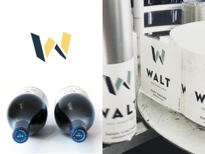 WALT Branding brand aid branding winery wine labels wine label designer wine label design wine label wine bottle wine branding wine