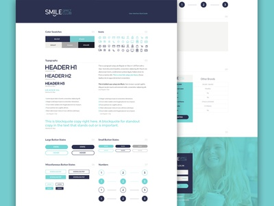 UI Guide ui style guide foundation code github website branding style guide ui guide brand aid
