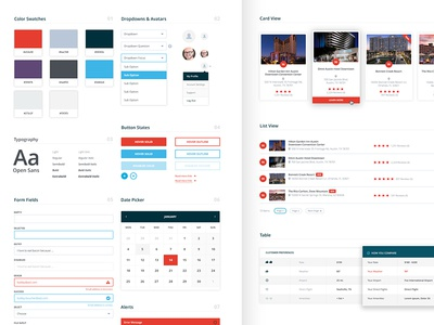 UI Style Guide ui style guide website web design colors brand aid dashboard ux ui brand guide style guide branding