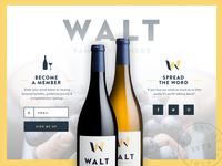 WALT Wines Web Lander
