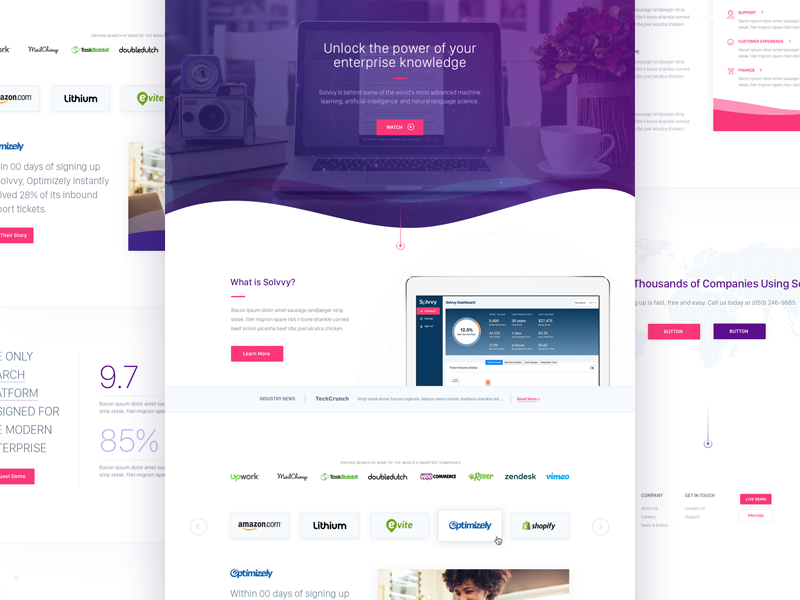 Solvvy, Home Page design interface website ux ui branding brand aid