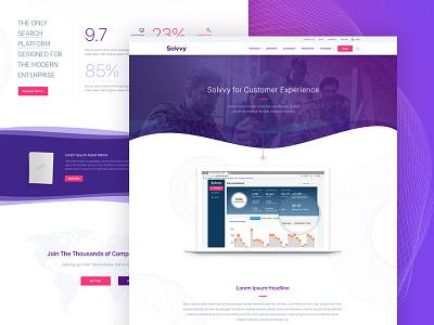 Solvvy, Solutions design interface website ux ui branding brand aid