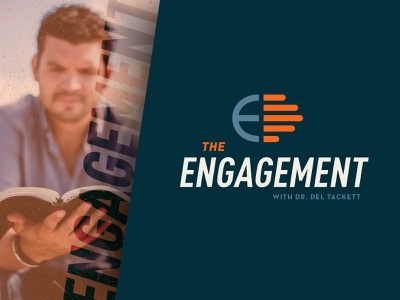The Engagement with Dr. Del Tackett identity design e hand logo branding brand aid