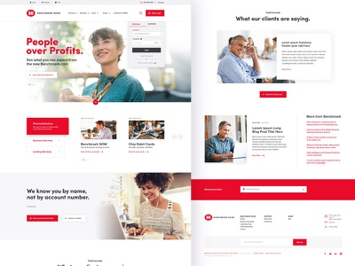 Banking Website design website brand aid front-end uidesign ux ui financial bank