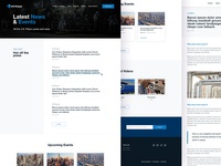 U.S. Polyco News & Events brand aid webdesign website ux ui news blog