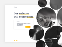 Landing page for Aevision