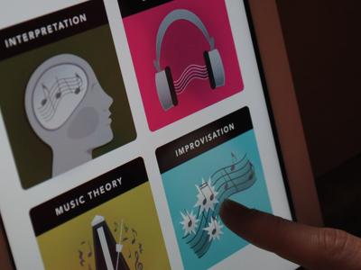 Capstone Screen Photograph music instruments ipad app