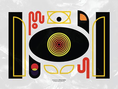 Selected • All Right Reserved © 2020 digital art line art branding illustration graphic design