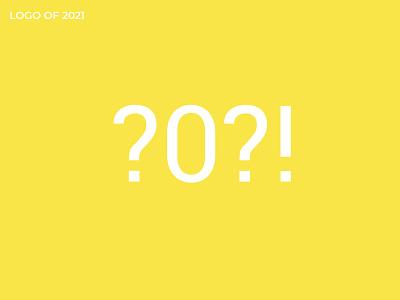 2021 LOGO web art minimalism flat style 2021 covid logotype typography ux vector ui logo illustration graphic design design branding animation