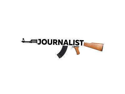 Poster: journalist is not a terrorist russia belarus usa politics logo animation vector ux typography ui illustration graphic design design branding poster
