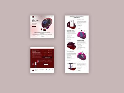 Real Estate Web Design Sample   Figma illustration design ux user experience uiux branding graphic design animation ui