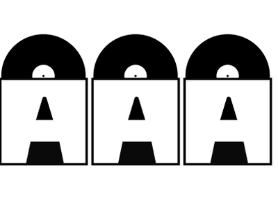 Graphic design for Swedish HIPHOP label, Trippel-A art bacigalupe sebastian bartling moa vector logo design blundlundcoltd blundlund