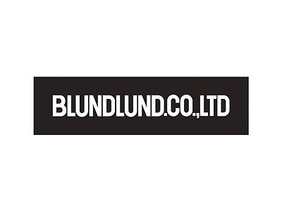 BLUNDLUND.CO.,LTD - Logotype print art fine design graphic bacigalupe sebastian bartling moa blundlundcoltd blundlund