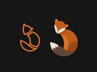 Fox illustration for logo