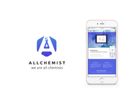 Allchemist logo and website