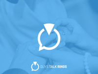Logo for IG account Guys Talk Rings