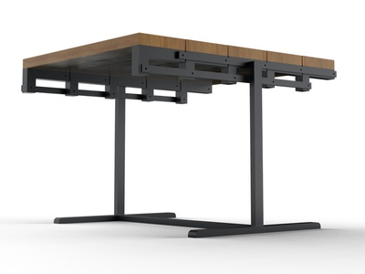Convertible Table as Standard table lunch dinner stool furniture home engineering industrial mechanism mechanical shelf convertible rotatable table keyshot ideas design concept 3d modelling 3d cad aesthetic