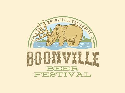 Boonville Beer Festival branding logo festival beer