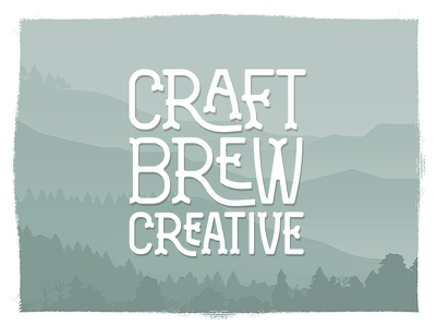 Craft Brew Creative type craft beer beer branding logo