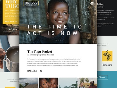 The Togo Project: Responsive Web creative compelling branding ui ux design responsive web