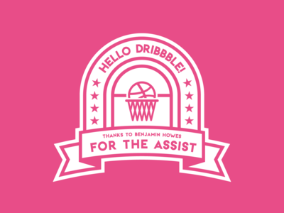 Hello Dribbble • First Shot