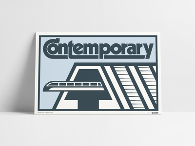 Contemporary Resort Poster
