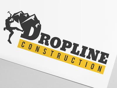 Dropline Contruction - Logo Design