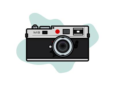 Leica M8 line art line m8 leica camera