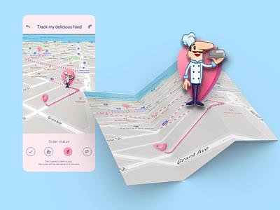 Daily UI: Day 20 - Location Tracker web-designlocation tracker 20daydailyui location tracker web 020 ui design dailyui