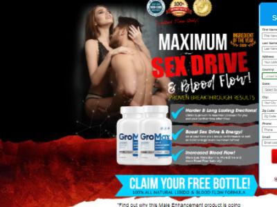 GroMax Male Enhancement ui