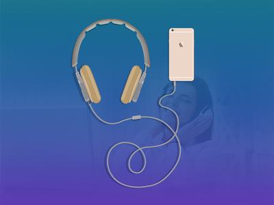 Headset Vector ux ui vector headset