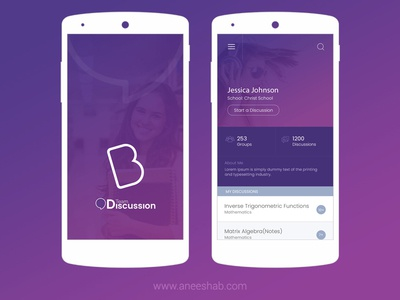 eLearning Application uiux ui mobile ios application elearning