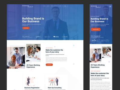 Business Branding website branding business