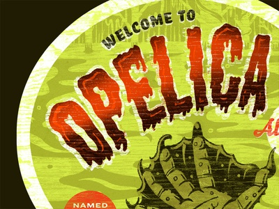 Opelica Alabama Travel Sticker