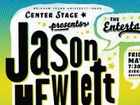 Center Stage Presents: Jason Hewlett