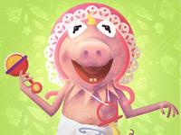 Kermit + Miss Piggy =