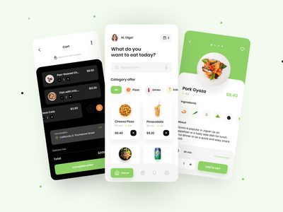 Food Delivery App 🍔 food delivery application food delivery service food design food delivery food delivery app food app food mobile app design figma ux uidesign ui app design